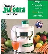 欧米加榨汁机OMEGA 4000