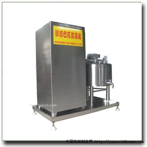 鲜奶巴氏杀菌机,奶吧消毒设备,鲜奶杀菌机价格;