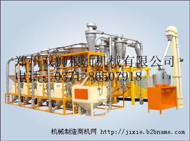 6FTF-36A落地8组面粉机面粉成套设备;