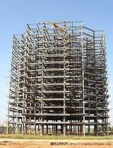 一級施工 甲級設計資質鋼結構企業承攬各種鋼結構;