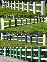 锌钢护栏 pvc护栏 草坪护栏隔离栏 安平财润现货供应;