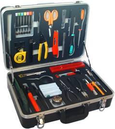 FTTH冷接工具箱 光缆施工工具箱;