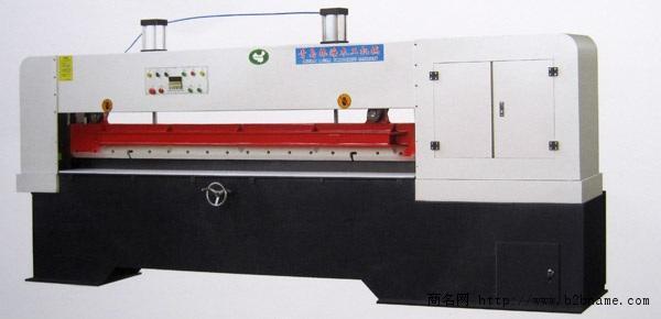 厂家直销薄木剪切机青岛林海最大生产基地;