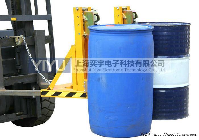 广州手推液压油桶车,电动翻桶车
