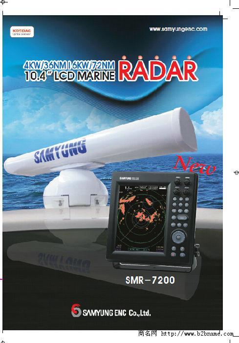 航海雷达 ;