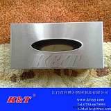 厂家促销不锈钢长方形纸巾盒/纸巾架/纸巾筒;
