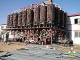 1500螺旋溜槽大处理量溜槽,重金属矿选矿溜槽;