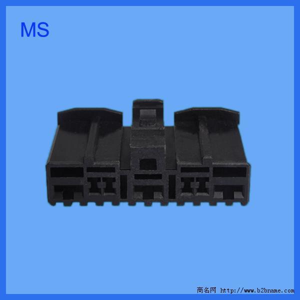 东莞连接器模具厂家提供模具设计制造与注塑加工;Auto Electrical Connector.jpg