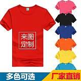 供应200g精硫棉平纹T恤 文化衫 企业宣传服;