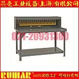 DURHAM MFG 带挡边和台面柜重型工作台;