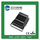云川新款黑色矩形50WLED投光燈戶外防水投射;