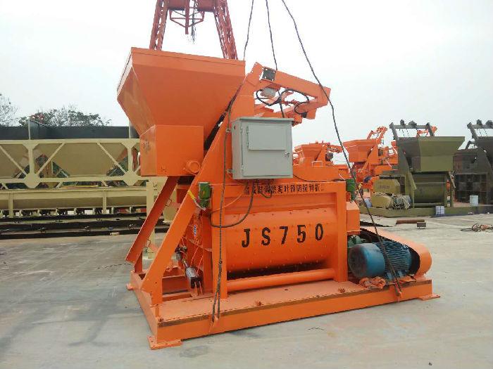 供应厂家直销JS500型混凝土搅拌机;