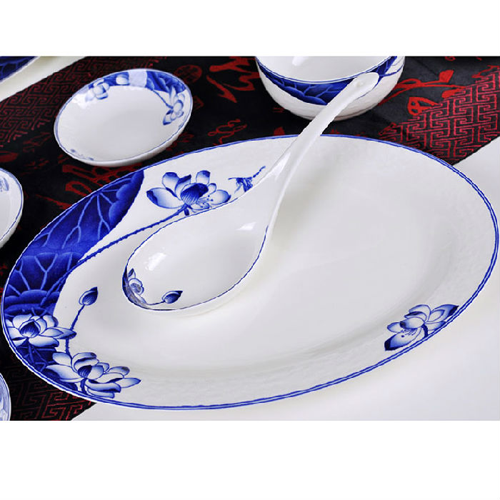 订制礼品青花瓷陶瓷餐具厂