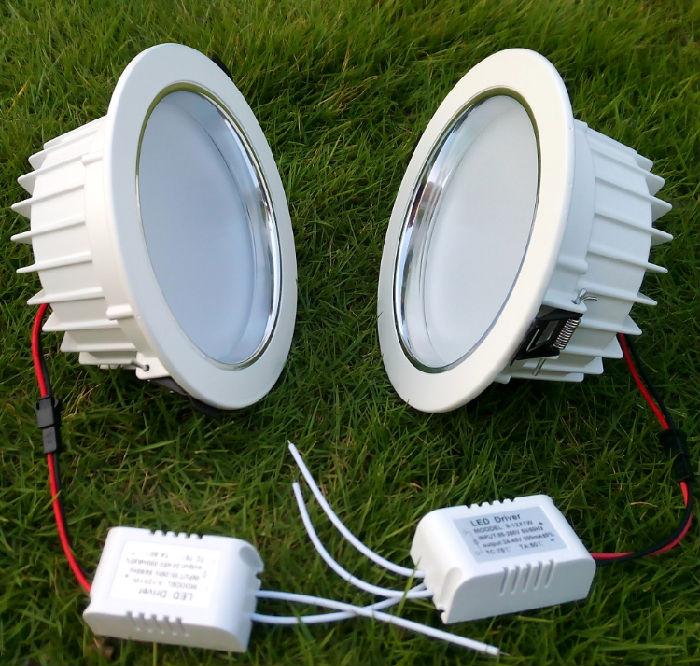 led筒灯天花灯吊顶开口LED室内节能灯泡;
