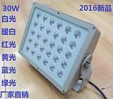 led30W投光灯LED户外防水泛光灯公路隧道;