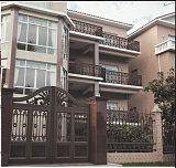 连云港铝艺别墅门&庭院门&花园小区铸铝大门;