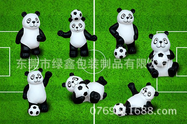 厂家供应玻璃钢熊猫 熊猫展览摆件 创意熊猫展道