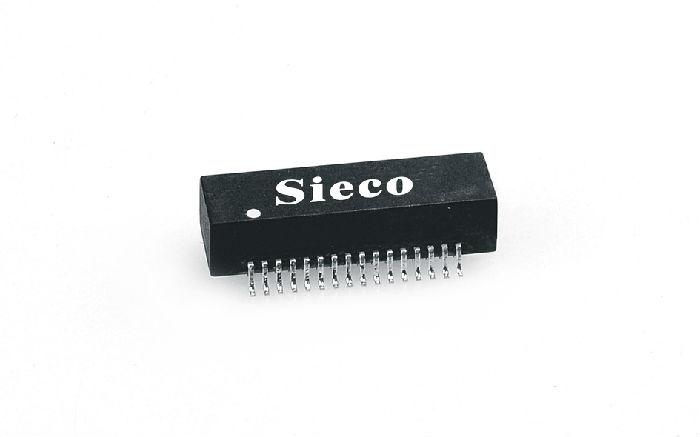 T1/E1四端口变压器,608-TE3203S;