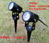 led3W地插灯LED草坪灯led草地灯户外防;