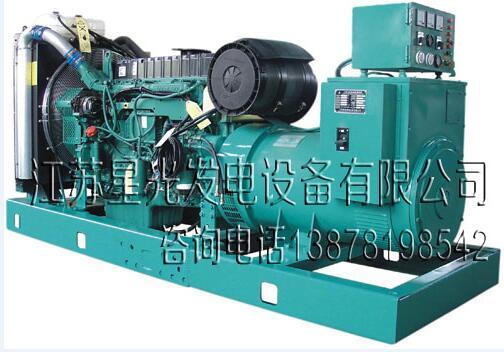 南宁沃尔沃XG-550GF柴油发电机550KW;