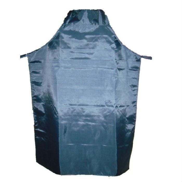 防水围裙塑料围裙厨房围裙尼龙布围裙 蓝色
