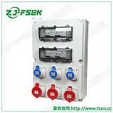 价PZ30配电箱 工业插座箱 阶梯式电源配电箱