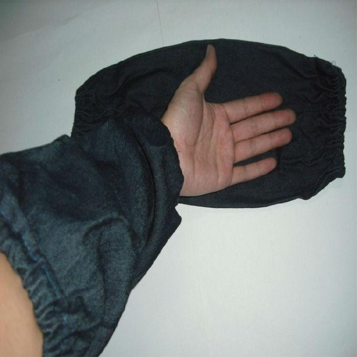 牛仔布套袖 蓝色帆布套袖 劳保套袖套 工厂套袖