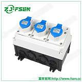 新型手提式工业插座箱 户外防水配电箱 多功能组;