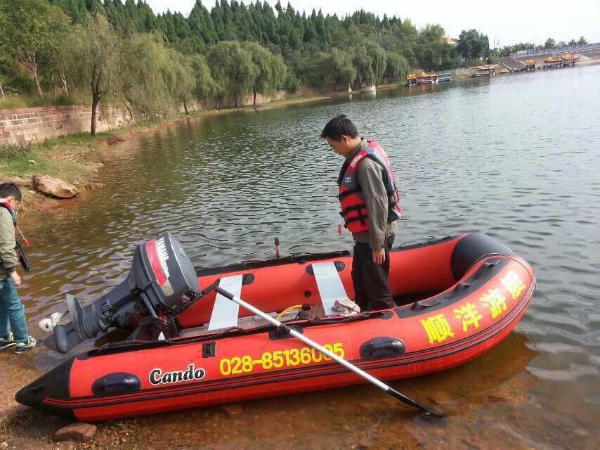 橡皮艇、游艇、快艇、钓鱼艇3.6米铝合金底板船;
