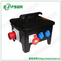 移动式电源插座箱 电缆线连接插座箱 防水配电箱