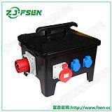 移动式电源插座箱 电缆线连接插座箱 防水配电箱;