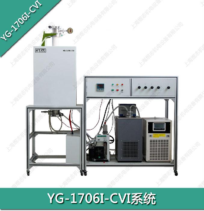 供应1700℃真空管式CVI系统实验高温炉;