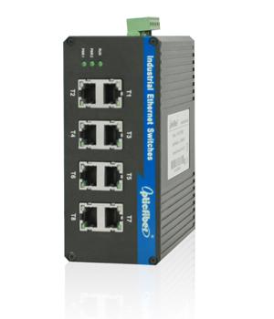 振兴光通信OP-GY008B系列工业交换机;