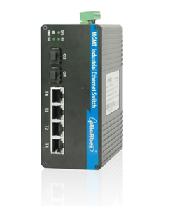 振兴光通信OP-GY204系列工业级交换机;