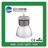银白色大功率150W新款鳍片式LED工矿灯批发;