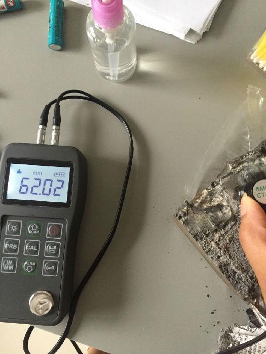 西藏可以电脑传输数据的测厚仪MTE-130B钢;