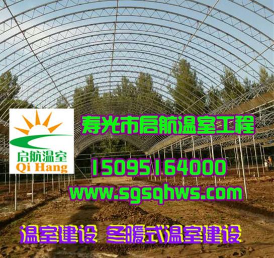 温室大棚建设 简易连栋拱棚 寿光市启航温室