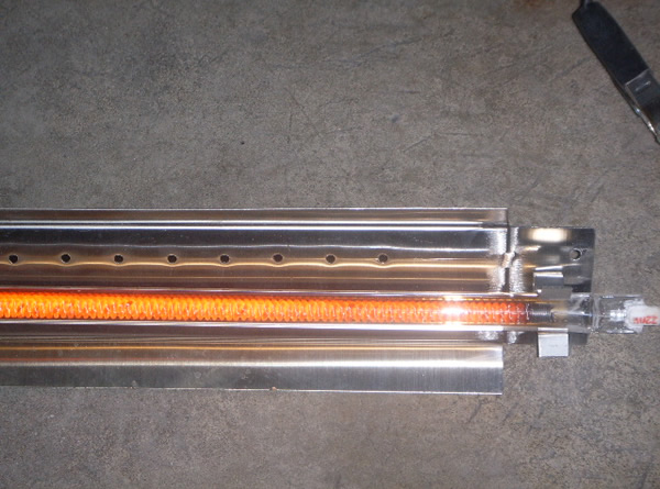 高红外辐射加热管 ;