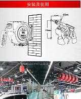 多友直供 自动伸缩回收卷管器电线绕管器电鼓排插2芯2*2.5 10米;