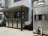 UV光解除臭废气除尘净化装置;
