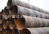 供應滄州鋼管廠直銷架橋打樁用 Q235B SY/T5040螺旋鋼管