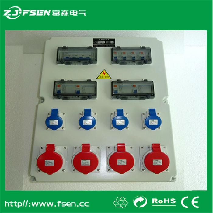 工业插座箱 防水电源插座箱 防水电源操作箱 配电箱
