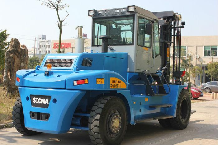 供应华南重工HNF160系列设备搬运专用16吨叉车国产16吨重型叉车;