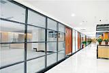 供应办公室高端玻璃百叶隔断,单玻隔断,卫生间隔断,移动隔断;