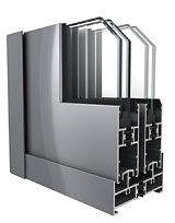 佳華鋁材DTM90隔熱節能推拉窗;