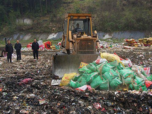贸易物流报废产品销毁环卫所垃圾日用品销毁焚烧物流工业废料怎么处理