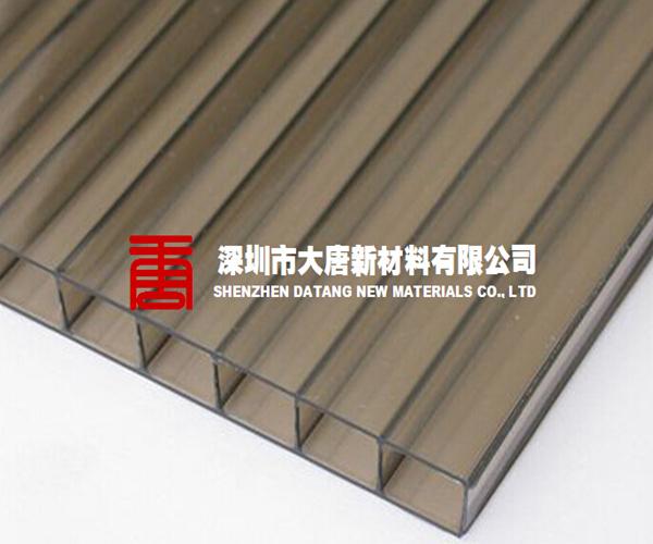 惠州阳光板工厂 惠州蓝色阳光板 惠州透明PC阳光板订做;
