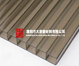 惠州陽光板工廠 惠州藍色陽光板 惠州透明PC陽光板訂做