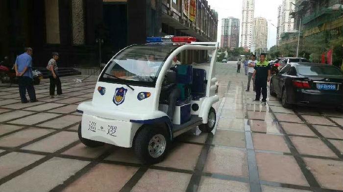 绿捷特电动巡逻车标准版 4人座;