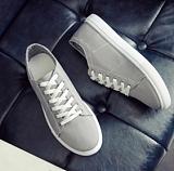 2016春季時尚男士韓版帆布鞋新款百搭男式板鞋韓版經典休閑鞋潮;